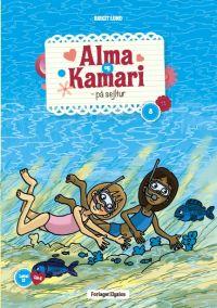 Alma og Kamari på sejltur