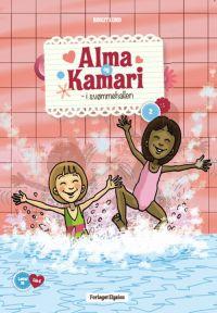 Alma og Kamari i svømmehallen