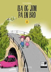 Lea og Jon på en bro - Lydret Max 3 bog 8